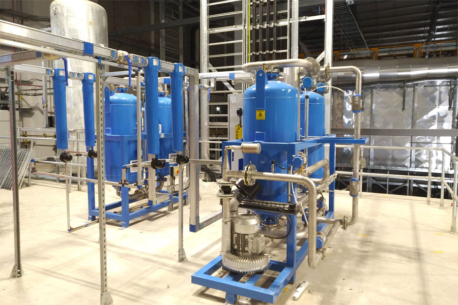 The latest generation of HBP-ZL absorption air dryers from Hi-line Industries feature many enhancements, including improved energy consumption