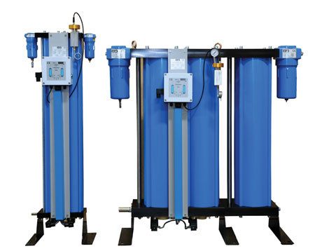 The Atacama Plus range of adsorption dryers from Hi-line Industries now features upgraded diaphragm valves