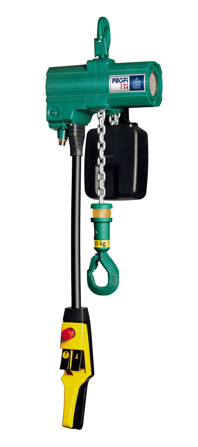 The Profi range of hoists from J D Neuhaus will now have a more environmentally friendly Hydro Coating